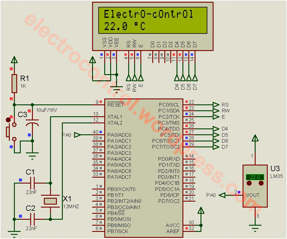 ATMEL AVR Tutorial 2 : How to access Input / Output
